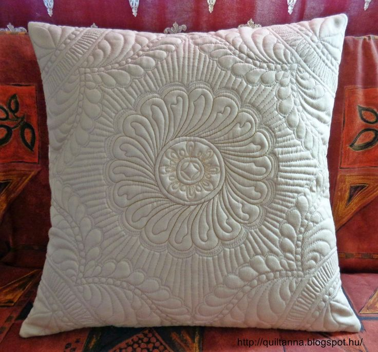 Anna's Quilting Studio: 2015.Márciusi quiting Free Motion Challenge