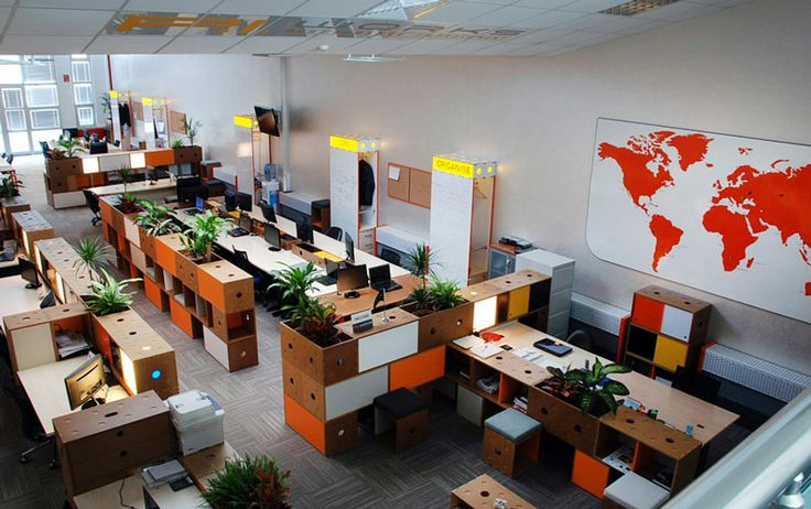 Meydan Architecture Design | Piworks Office, Modular Office Furniture Concept