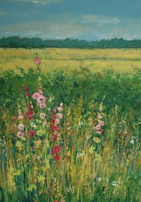 62 Anna Perlin PAINTING, PRINTMAKING 129 Crabtree Lane, HARPENDEN, AL5 5RQ Near Crabtree School in between Grasmere Avenue and Lyndhurst Drive 07761 340186 annaperlin@yahoo.co.uk www.annaperlin.com Vibrant, bright oil paintings of the British countryside, and contemporary figurative woodcut and carborundum printmaking.