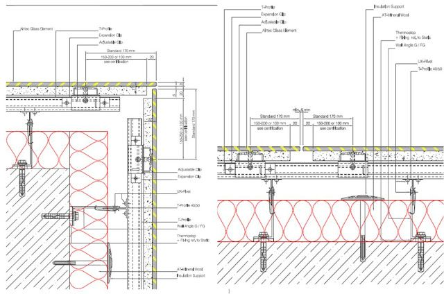 Glass Cladding Corner Detail Diagrams Drawings Amp Models