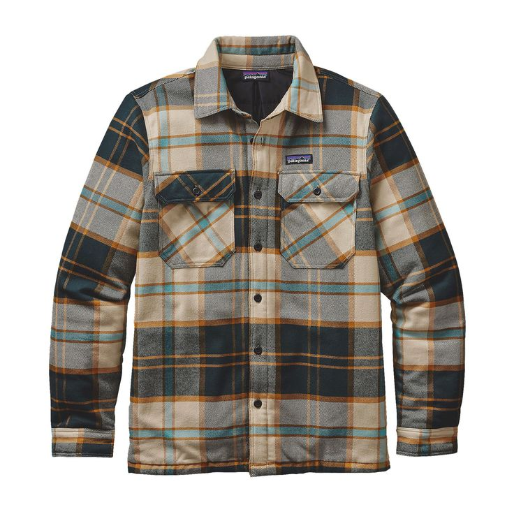 Patagonia Men's Insulated Fjord Flannel Jacket http://www.99wtf.net/young-style/178/