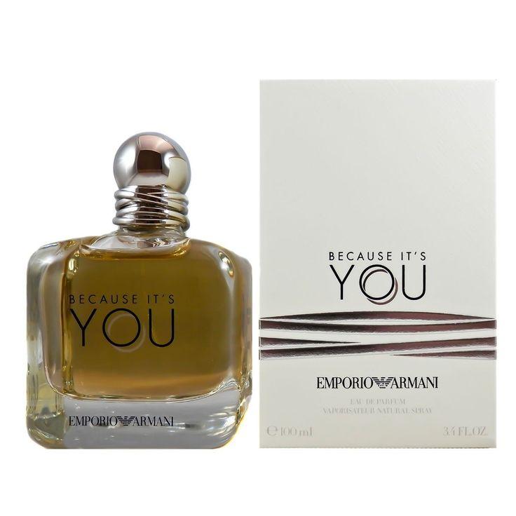 Because It's You by Emporio Armani #perfume #emporioarmani #becauseitsyou #women #forher #womensfashion
