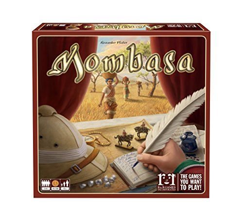 $45 Mombasa Board Game R & R Games