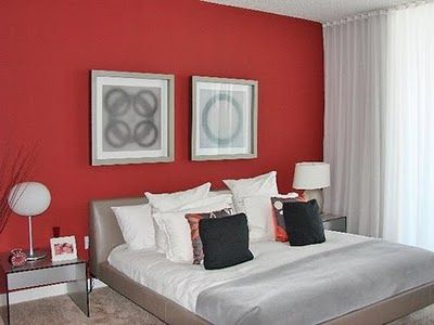 17 best ideas about red accent walls on pinterest red 19041 | 00ccc8a6ae66f7ef4fad1abf6cc99f16
