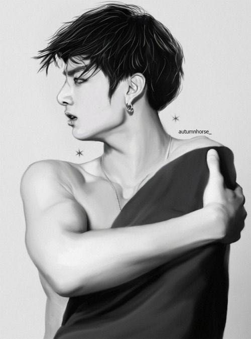 Blood Ink - 09: Connect Two | Art in 2019 | Bts, Jungkook
