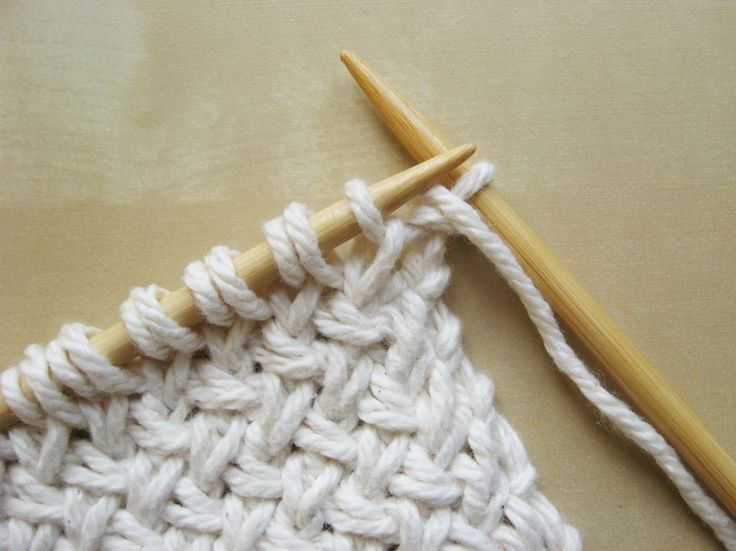 Learn how to knit Diagonal Basketweave. Tutorial by How Did You Make This?