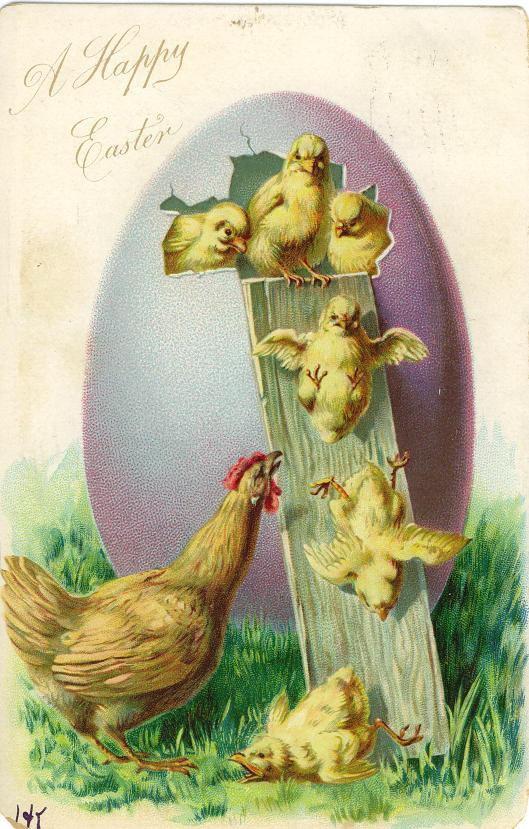 Free Vintage Easter Cards 41