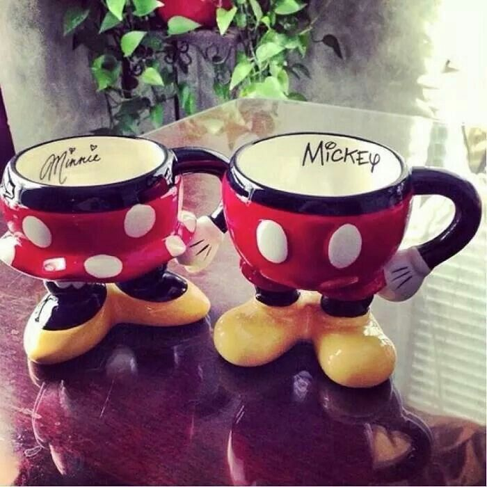 Mickey n Minnie cup