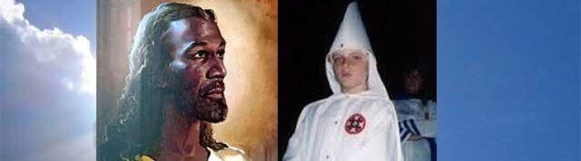 "Lid Ku Klux Klan (13) na bijna-doodervaring: ""Jezus is zwart"" - http://www.ninefornews.nl/lid-ku-klux-klan-13-na-bijna-doodervaring-jezus-zwart/"
