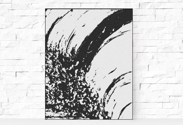 #Minimal #Art, #BlackandWhite #Abstract #Painting, #Modern #WallArt, #Minimal #Print, #Black #White #AbstractPainting #Poster, #Contemporary, #Printable #11x14inch #PrintableArt by #JuliaApostolovaArt on #Etsy #officeart #office #home #decor #interior #design #decorator