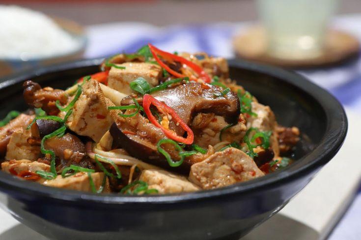 Prueba esta receta de la cocina oriental de la mano de Lis Ra, en El Gourmet. Tostadas, Tofu, Kung Pao Chicken, Beef, Ethnic Recipes, Gourmet, Gastronomia, World, Fungi