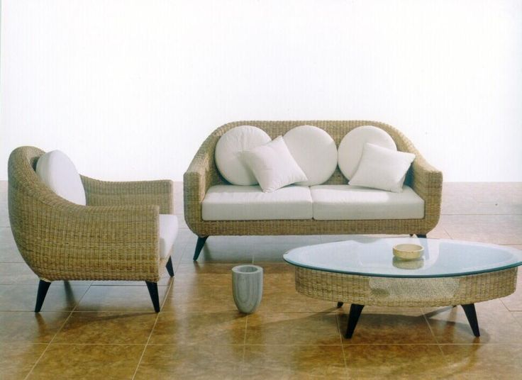 Rattan Furniture Can Look Great In Any Style Of Interior Design. For More  Traditional Living