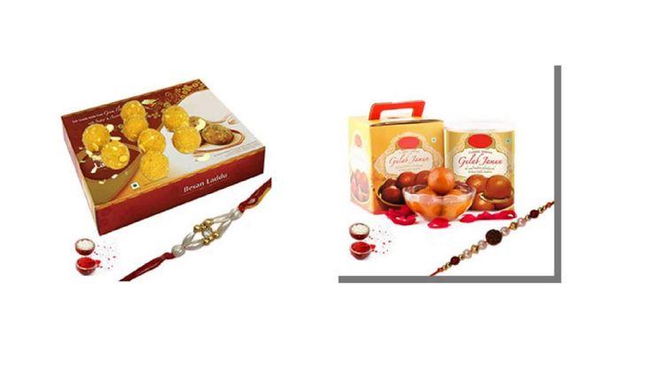 Rakhi with Sweets Online for brother | Rakhi Online | Giftalove.com