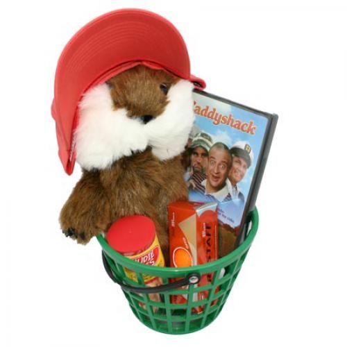 CaddyShack Golf Gift Basket - DVD Package.  Buy it @ ReadyGolf.com