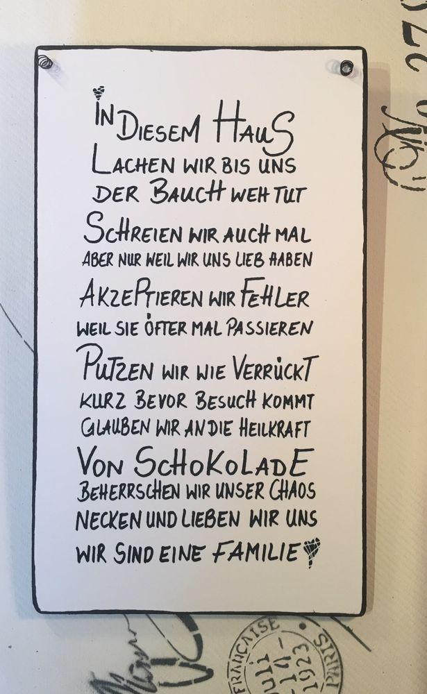 Wandschild Deko Shabby Vintage In Möbel U0026 Wohnen,