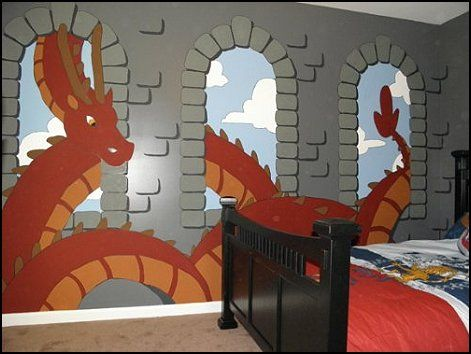 7 Best Images About Boys Dragon Themed Room On Pinterest