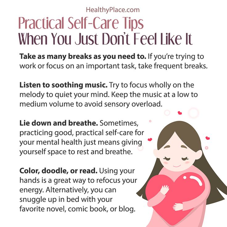 Practical Self-Care Tips For Mental Illness