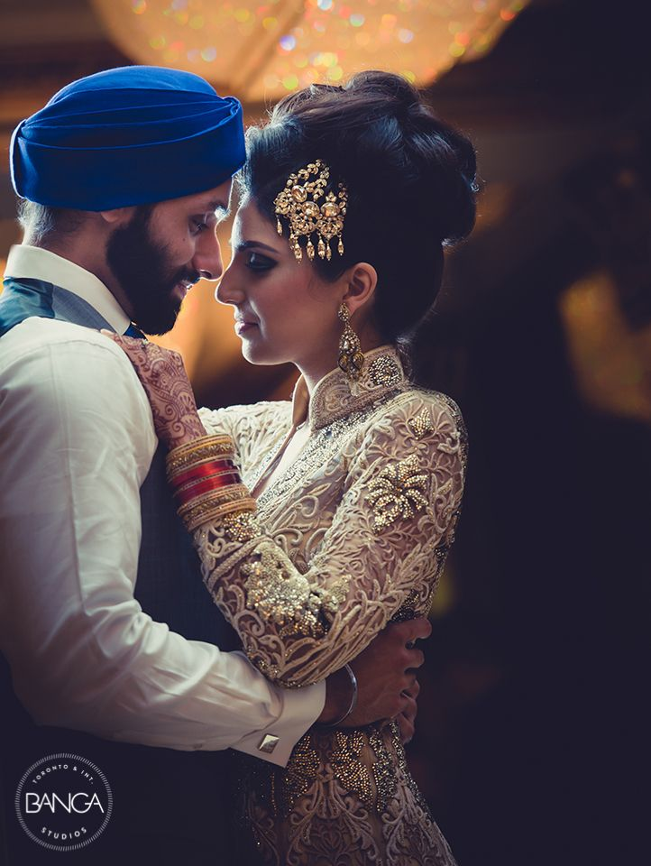 Manjeet & Nove - beautiful wedding and reception outfits