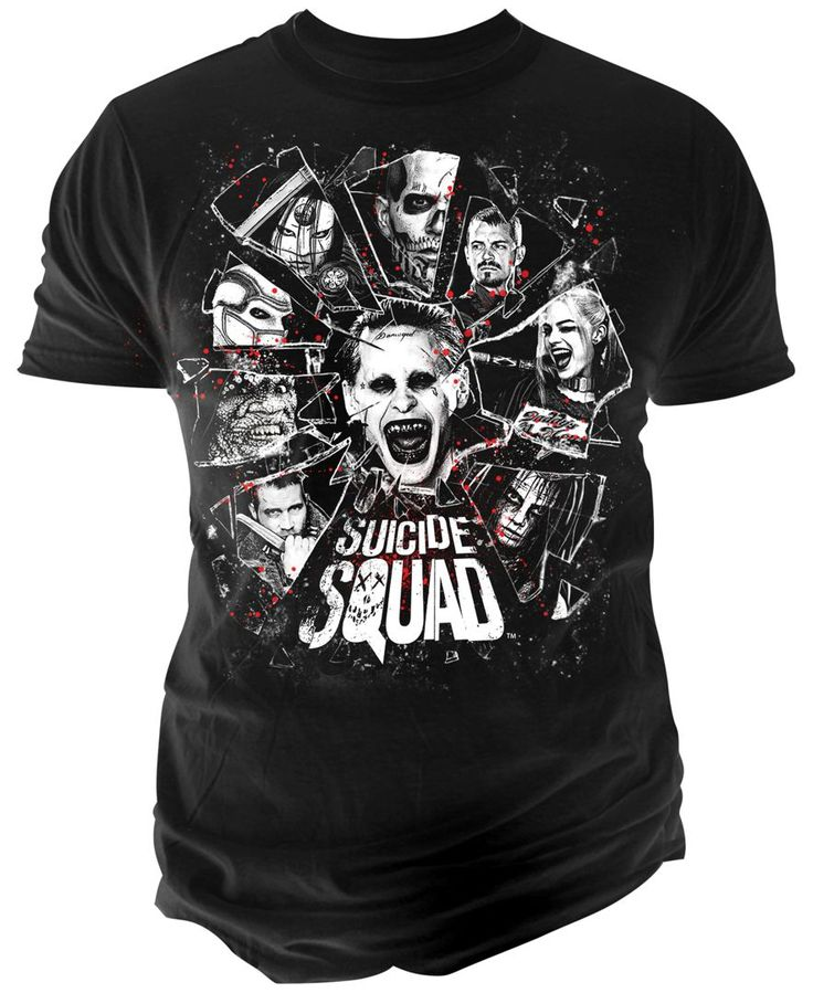 Changes Mens Suicide Squad Graphic Print T Shirt