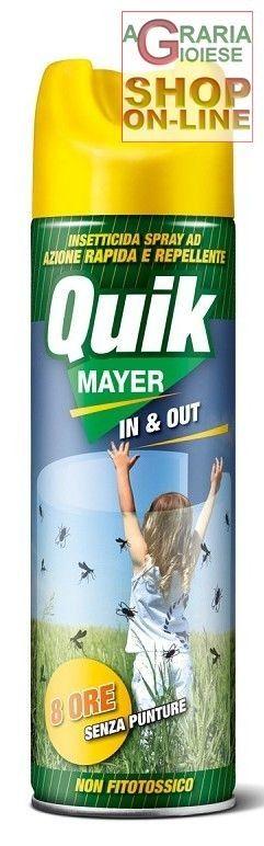 MAYER REPELLENTE PER LE ZANZARE QUICKMAYER ML. 500 http://www.decariashop.it/insetticidi-uso-civile/11529-mayer-repellente-per-le-zanzare-quickmayer-ml-500.html