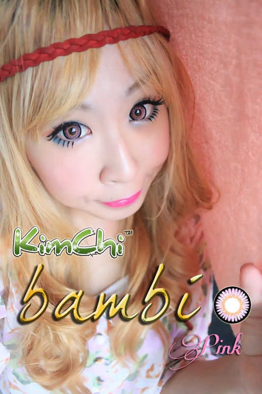Kimchi Bambi in Pink