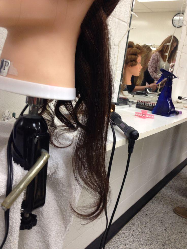 Inward curl