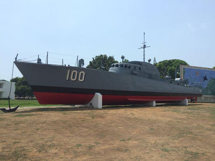 ARC 100. En la Escuela Naval Almirante Padilla (ENAP) de la Armada Nacional de Colombia.