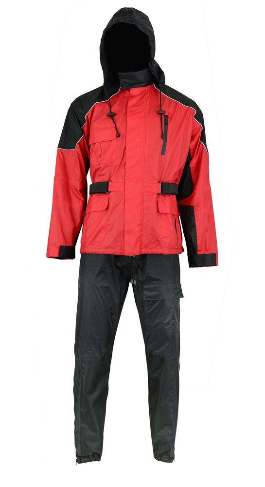 DS591RD Rain Suit (Red)