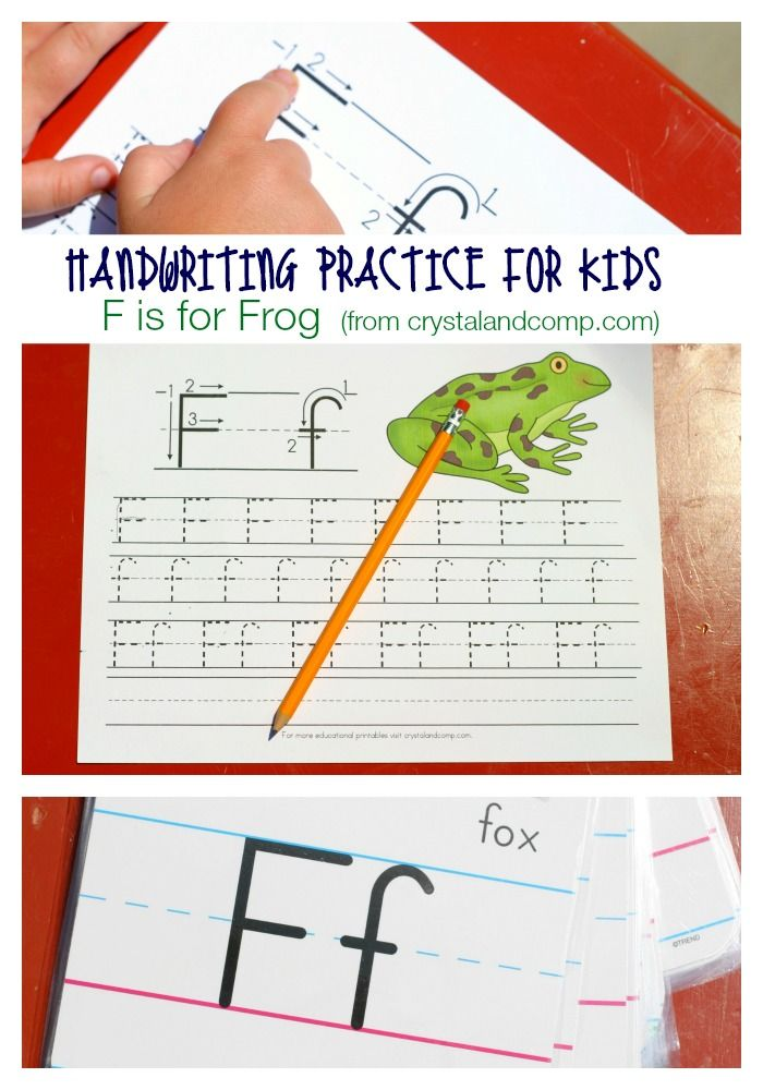 handwriting practice for kids
