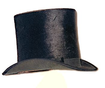 "When the first top hat was worn by the haberdasher John Hetherington in 1797, it caused a near riot. According to a newspaper account, ""passersby panicked at the sight. Several women fainted, children screamed, dogs yelped, and an errand boy's arm was broken when he was trampled by the mob.""  So Hetherington was taken to court for wearing ""a tall structure having a shining luster calculated to frighten timid people."""