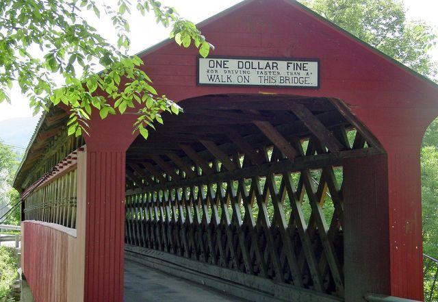 Chiselville Bridge, VT - One Drive, Five Covered Bridges