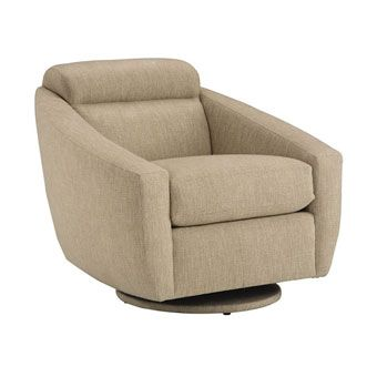 Bolo Swivel Glider Chair Contemporary Furniture at Scandinavian Imports.
