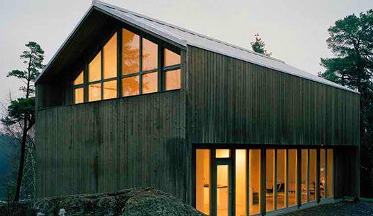 Arkitecthus, Swedish Barn House, Swedish prefab, green prefab, Claesson, Koivisto, Rune, Plus House, Plus prefab house, prefab friday, Sweden, barn, modular architecture, prefabricated housing, prefab homes, new prefab