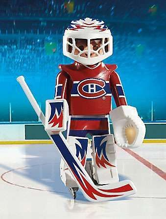 Playmobil NHL Hockey Sports & Action NHL Montreal Canadiens Goalie Set #5078