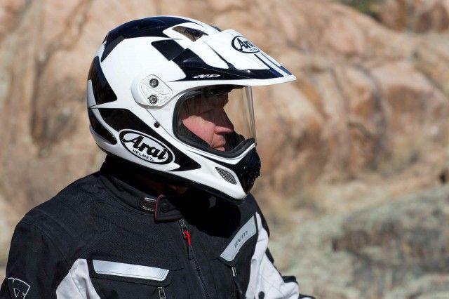 Arai's XD4 Dual Sport Helmet