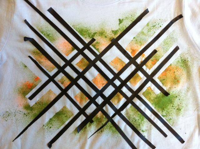 Best Spray Paint Shirts Ideas On Pinterest Paint Shirts