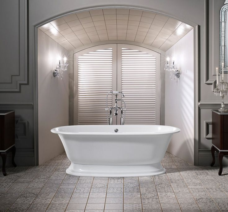 25 best images about bathroom on pinterest tub shower for Soaking tub in master bedroom