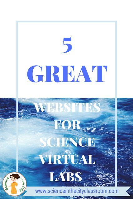 Science class is a great place for hands-on activities but there are some activities that you can't do hands-on.  Its great to be able to at least give students some experience with those activities in a virtual environment as opposed to just lecture. There are many alternatives for doing online 'virtual labs.'  Here are a few of my favorites.