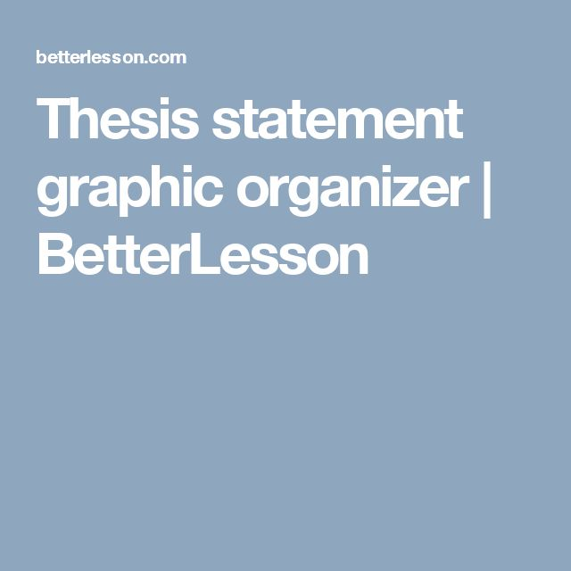 thesis statement organizer 1 sample language arts thesis statement graphic organizer handout for teaching introduction to thesis statements and the five paragraph essay format.