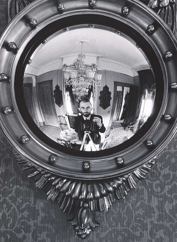 Ansel Adams, Self-Portrait in Victorian Mirror, Atherton, California, 1936