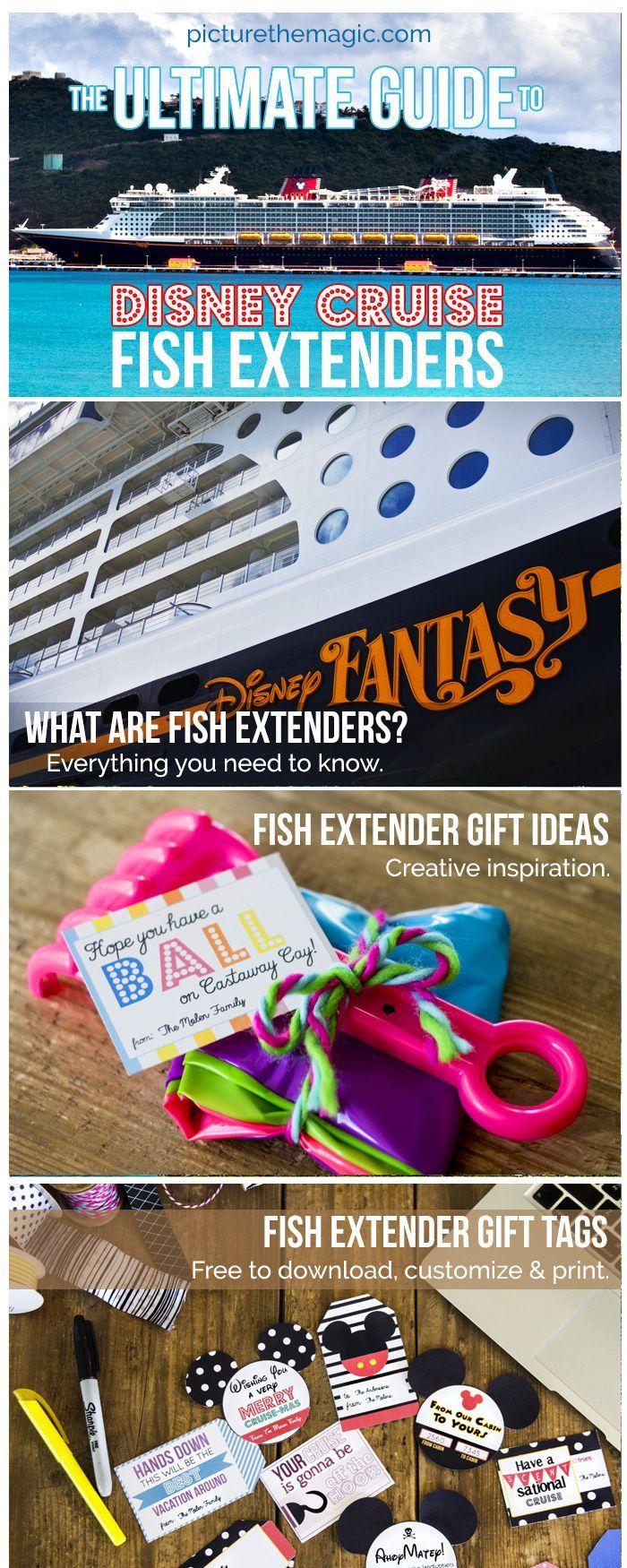 More than 100 Fish Extender Gift Ideas! Free fish extenders templates and tutorials. Download free gift tags. Gift suggestions for men, women, boys, girls.