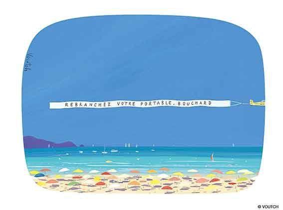 Le bonheur au travail (article complet en suivant le fil) - exposition - dessin de presse - humour - Voutch