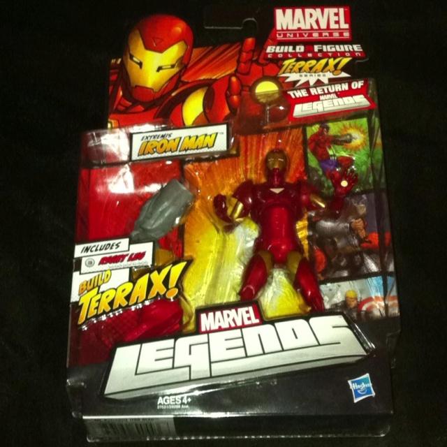 Marvel Legends Extremis Ironman