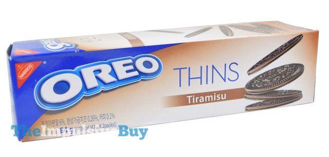 Nabisco Oreo Thins Tiramisu Cookies...Korea