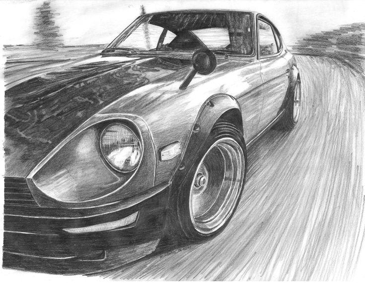 Datsun 240Z by mehmetmumtaz.deviantart.com on @deviantART