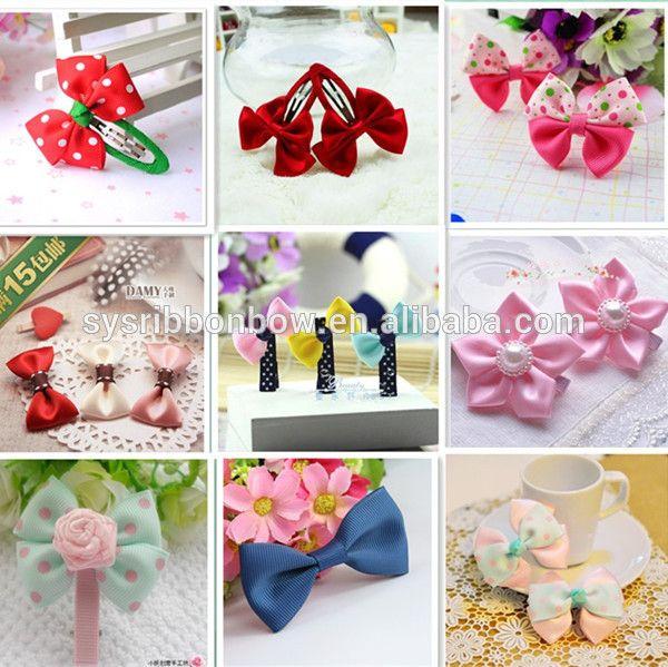 fashion ribbon hair accessories