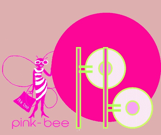logo pink bee