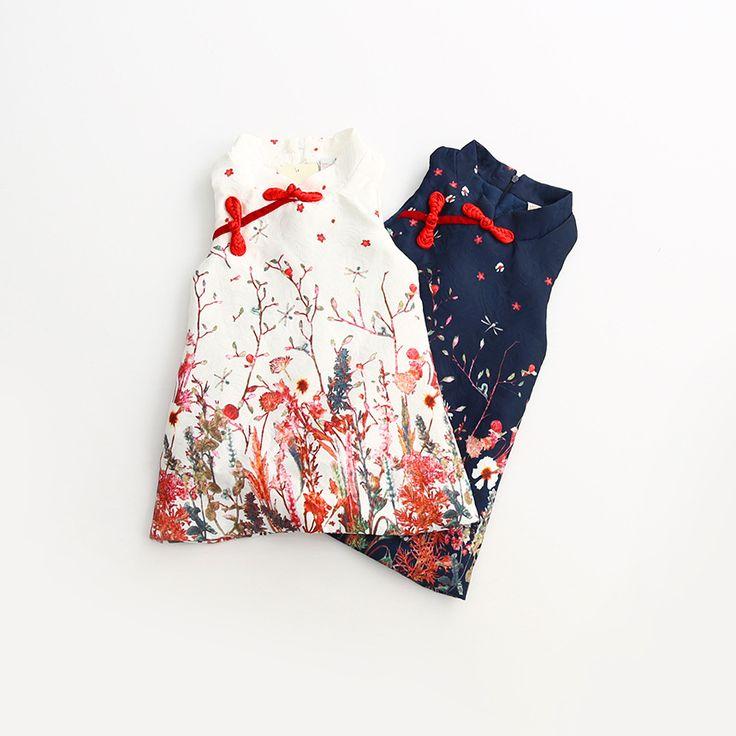 $17.31 (Buy here: https://alitems.com/g/1e8d114494ebda23ff8b16525dc3e8/?i=5&ulp=https%3A%2F%2Fwww.aliexpress.com%2Fitem%2FNew-Arrival-2016-Girls-Chinese-Style-Cheongsam-Kids-Girls-Summer-Sleeveless-Floral-Dress-2-7-Years%2F32721189406.html ) New Arrival 2016 Girls Chinese Style Cheongsam Kids Girls Summer Sleeveless Floral Dress 2-7 Years for just $17.31