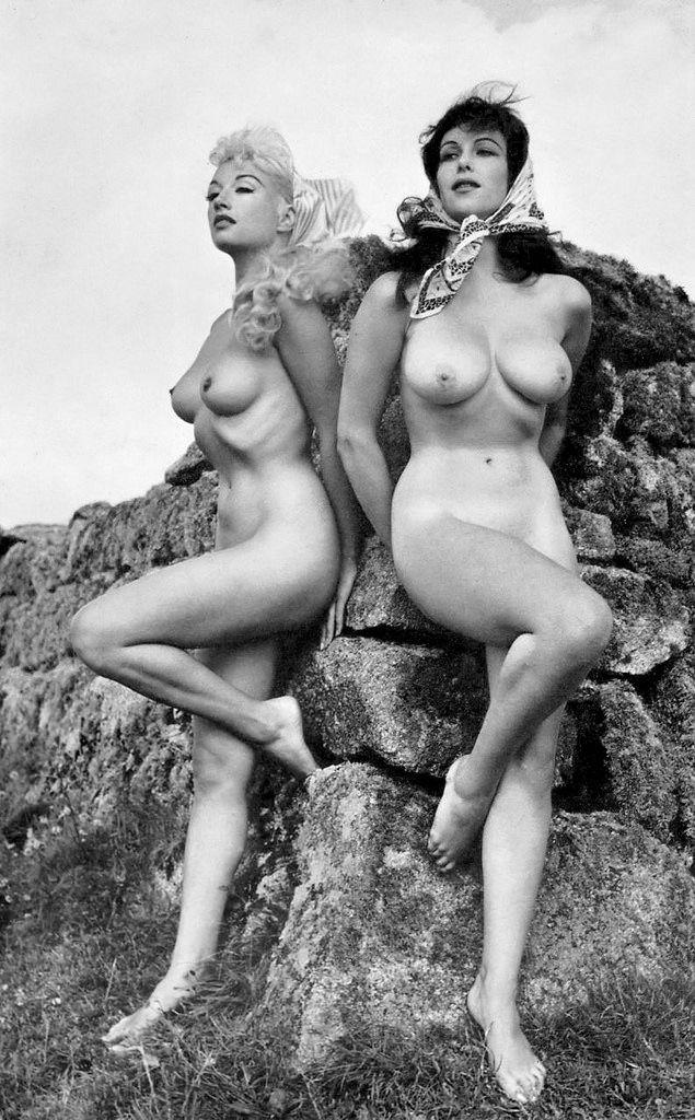 vintage naked