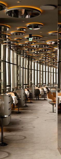 Elegant Ciel De Paris Restaurant | Amazing Restaurant Interior Design You Must See.